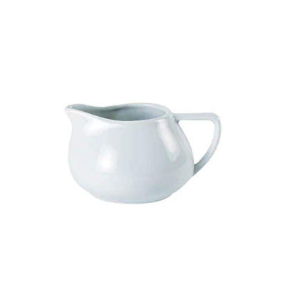 Porcelite Contemporary Milk Jug 5oz - Coffeecups.co.uk
