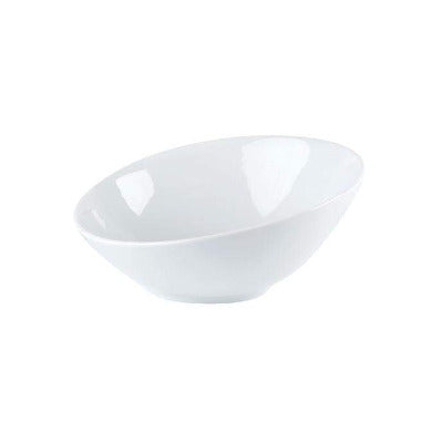 Porcelite Angled Bowl 17cm - Coffeecups.co.uk