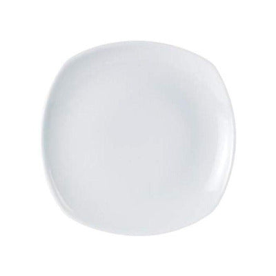 Porcelite Square Plate 25cm - Coffeecups.co.uk