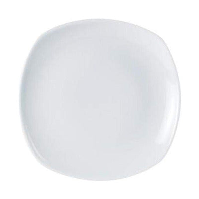 Porcelite Square Plate 29cm - Coffeecups.co.uk