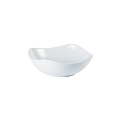 Porcelite Square Bowl 17cm - Coffeecups.co.uk