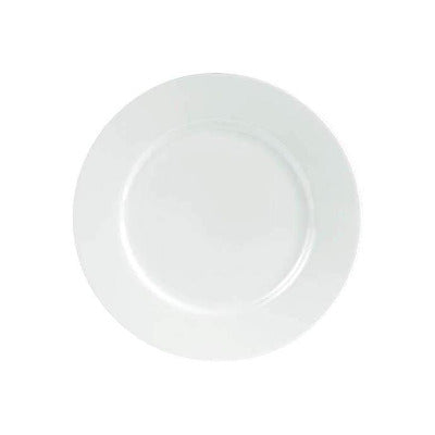 Porcelite Connoisseur Wide Rimmed Plate 20cm - Coffeecups.co.uk