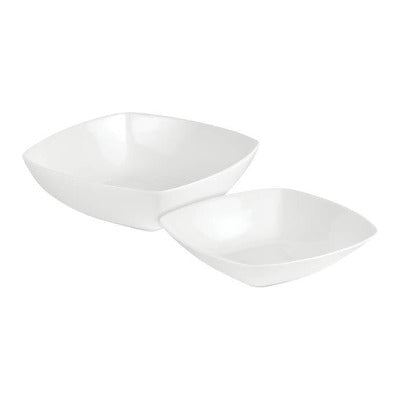 Porcelite Connoisseur Square Bowl 18cm - Coffeecups.co.uk