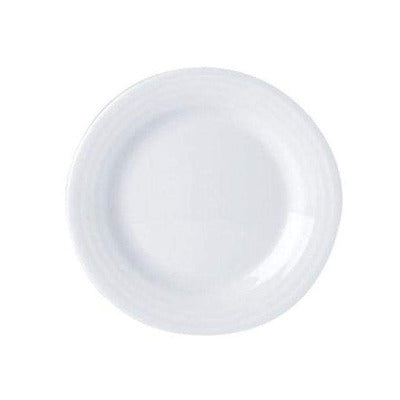 Porcelite Focus Flat Plate 23cm - Coffeecups.co.uk