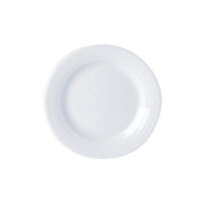 Porcelite Focus Flat Plate 17cm - Coffeecups.co.uk