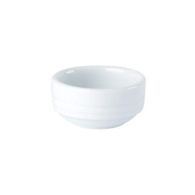 Porcelite Focus Butter/Jam Bowl 6cm - Coffeecups.co.uk