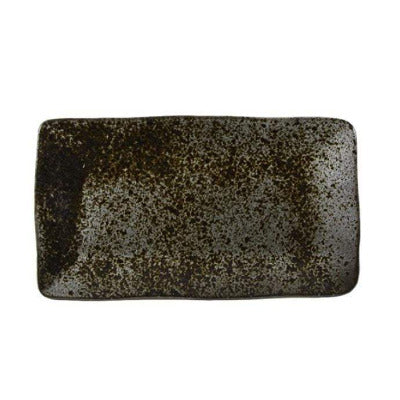 Rustico Ironstone Rectangular Plate 27.5 x 15.5cm - Coffeecups.co.uk