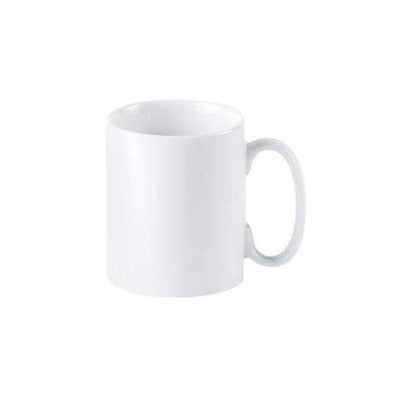 Porcelite Chunky Latte Mug 10oz - Coffeecups.co.uk