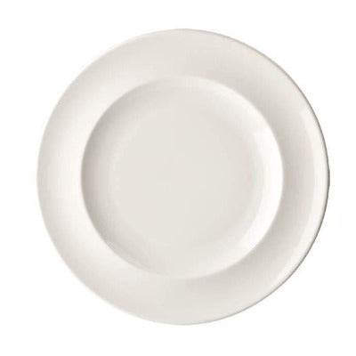 Academy Fine China Rimmed Plate 31cm - Coffeecups.co.uk