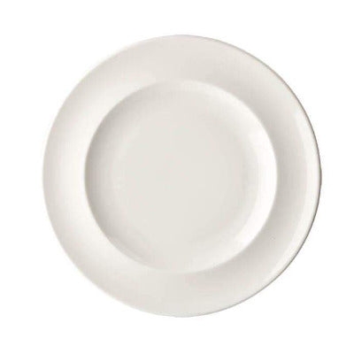 Academy Fine China Rimmed Plate 28.5cm - Coffeecups.co.uk
