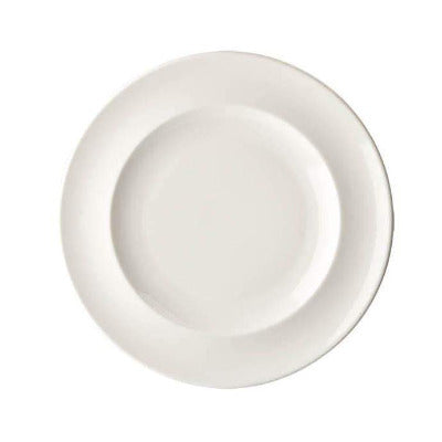 Academy Fine China Rimmed Plate 26.5cm - Coffeecups.co.uk