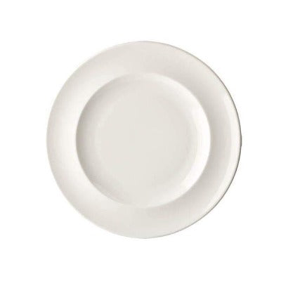 Academy Fine China Rimmed Plate 23cm - Coffeecups.co.uk