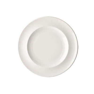 Academy Fine China Rimmed Plate 20cm - Coffeecups.co.uk