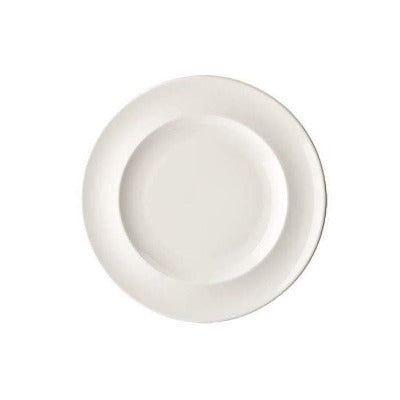 Academy Fine China Rimmed Plate 17cm - Coffeecups.co.uk