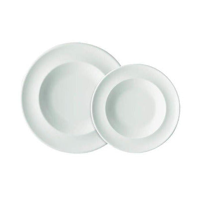 Academy Fine China Soup Plate 24cm - Coffeecups.co.uk