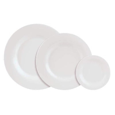 Academy Fine China Finesse Plate 17cm - Coffeecups.co.uk