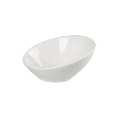 Academy Fine China Angled Bowl 10cm - Coffeecups.co.uk