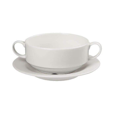 Academy Fine China Stacking Soup Cup 10cm - Coffeecups.co.uk