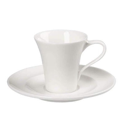 Academy Fine China Espresso Saucer 12cm - Coffeecups.co.uk