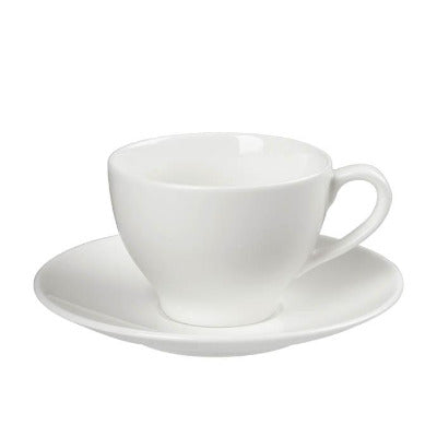 Academy Fine China Saucer (Single Well) 15cm - Coffeecups.co.uk