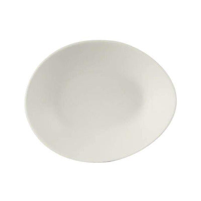 Australian Fine China Egg Shaped Plate 26cm - Coffeecups.co.uk