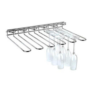 Chrome Plated Wire Glass Rack | Coffeecups.co.uk