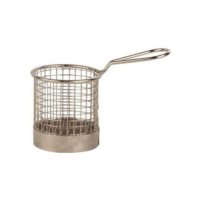 Wire Serving Basket 9cm - Coffeecups.co.uk