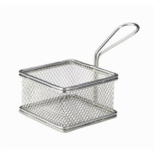 Wire Square Basket 9.5cm - Coffeecups.co.uk