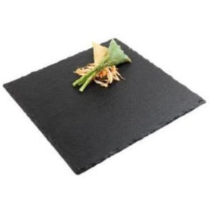 Natural Slate Square Tray 30cm - Coffeecups.co.uk