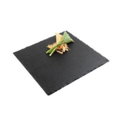 Natural Slate Square Tray 25cm - Coffeecups.co.uk