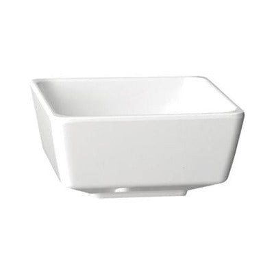 Melamine Square Bowls 19cm - Coffeecups.co.uk