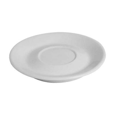 Enrica Cappuccino Saucers 16cm - Coffeecups.co.uk