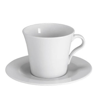 Giorgia Cappuccino Saucer 15cm - Coffeecups.co.uk