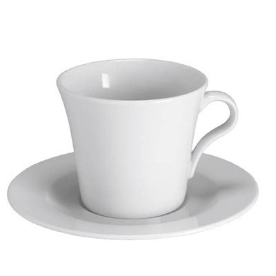 Giorgia Cappuccino Saucer 17cm - Coffeecups.co.uk