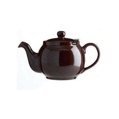 Chatsford 2 Cup Teapot BROWN 16oz - Coffeecups.co.uk