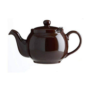 Chatsford 4 Cup Teapot BROWN 27oz - Coffeecups.co.uk