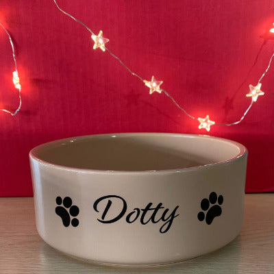 Personalised Mason Cash Pet Bowls