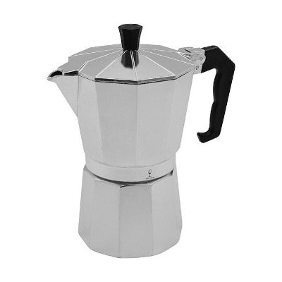 Argon Moka Pot 6 Cup Italian Stove Top Coffee Percolator - Coffeecups.co.uk