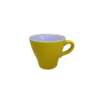 Enrica Yellow Flat White Cup 6oz/170ml