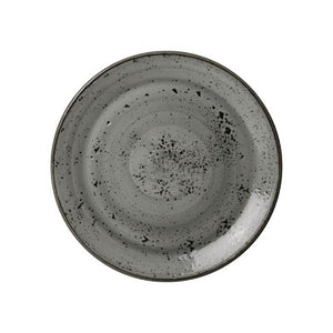 Steelite Urban Smoke Coupe Plate 20.25cm | Split Boxes Available | Coffeecups.co.uk