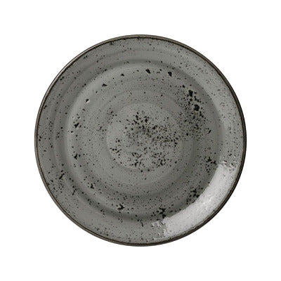 Steelite Urban Smoke Coupe Plate 25.25cm | Split Boxes Available | Coffeecups.co.uk