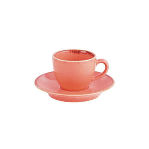 Porcelite Seasons Espresso Cup Coral 3oz | Coffeecups.co.uk