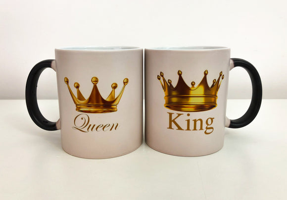 Set 2 Cani termosensibile King-Queen Gold Edition