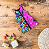 Kids Split Romper Dress