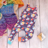 Kids Fierce and Free Romper