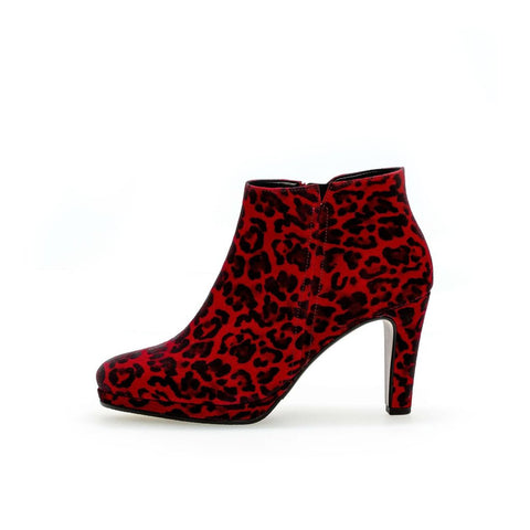 Gabor 35.860.35 - Red Leopard Print