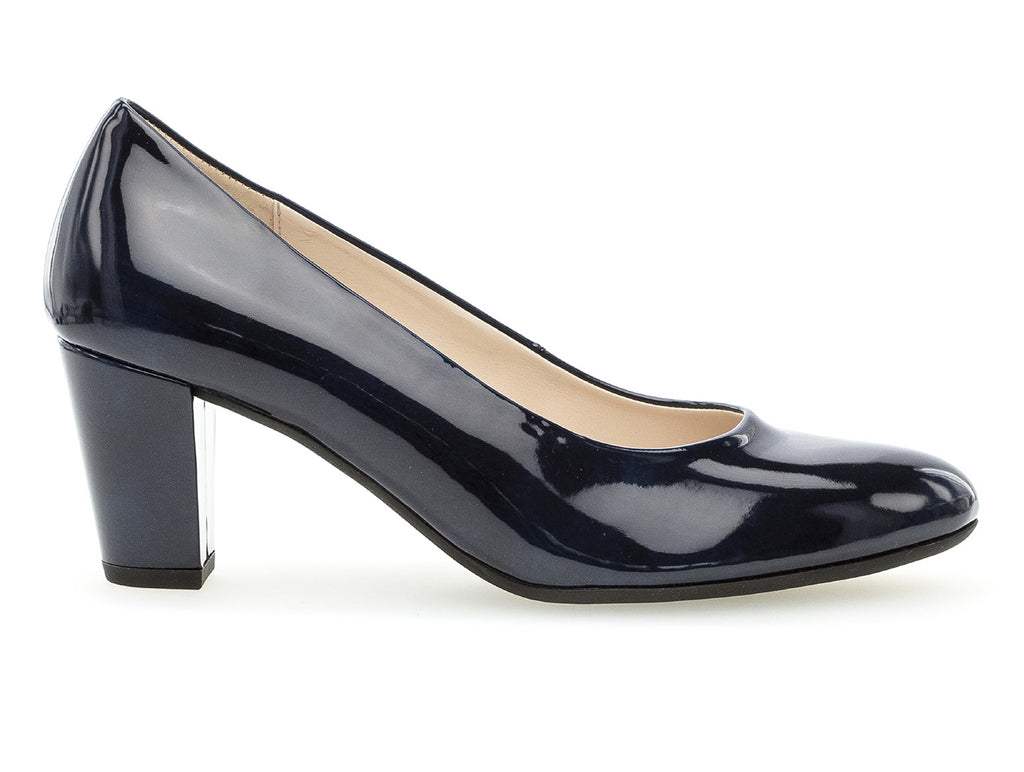 635ff8ff32f1 Gabor 22.150.86 | Marine Patent | Ladies Court Shoes at Gabor Shoes ...