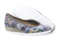 Gabor 22.641.24 in Floral Stone sole view
