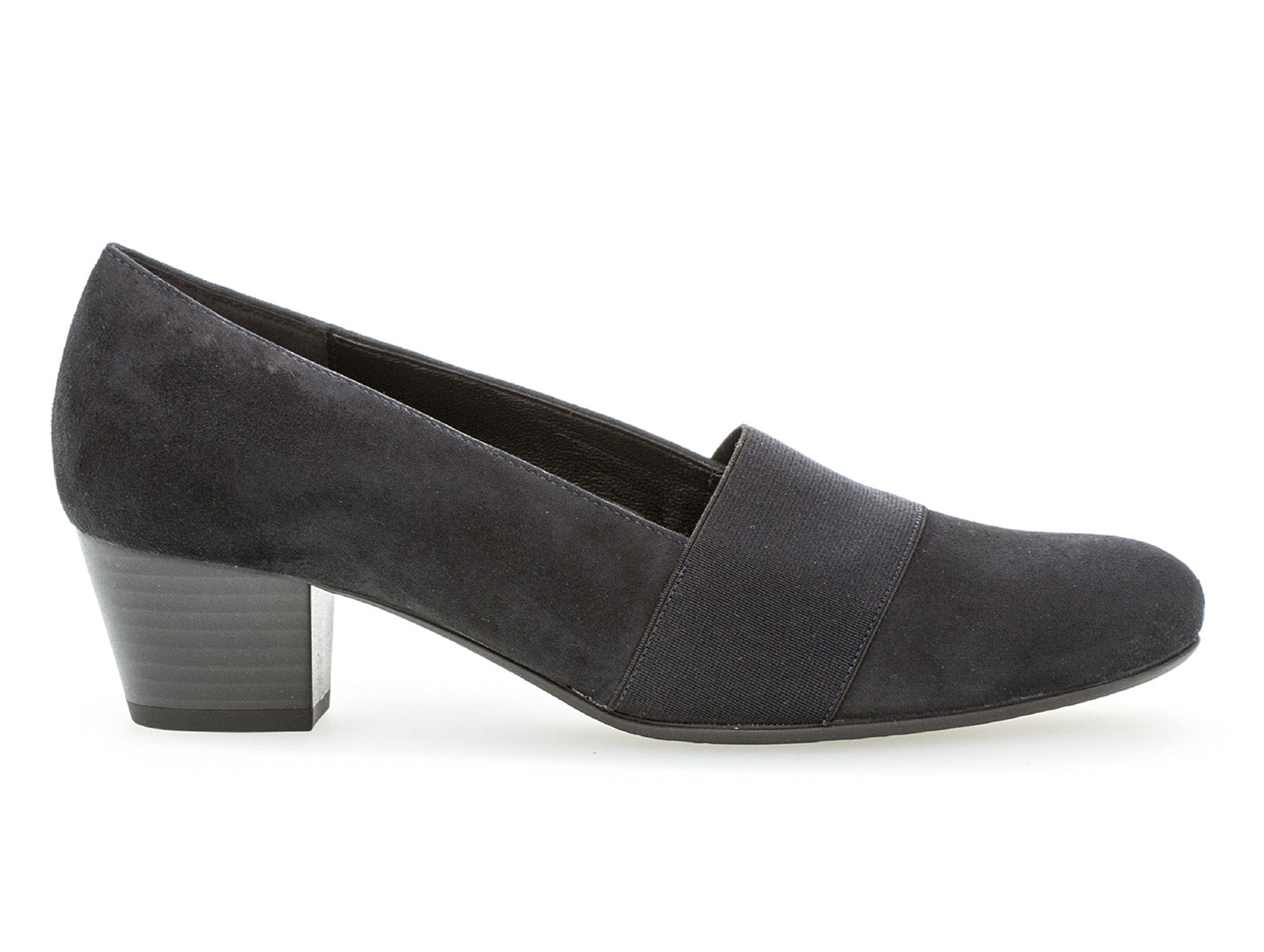 Gabor 92.052.26 in Navy suede outer view