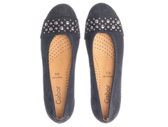 Gabor 24.166.16 in Navy Suede top view